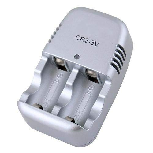 High Quality Portable Home Wall Charger for CR2 3.0v Rechargeable Battery 300mA