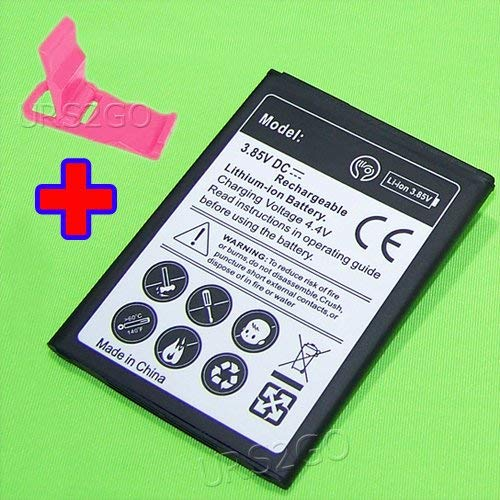 High Capacity 3400mAh Extended Slim Battery for MetroPCS LG Stylo 2 Plus MS550 Smartphone With Additional Valueable Accessory (See Picture)
