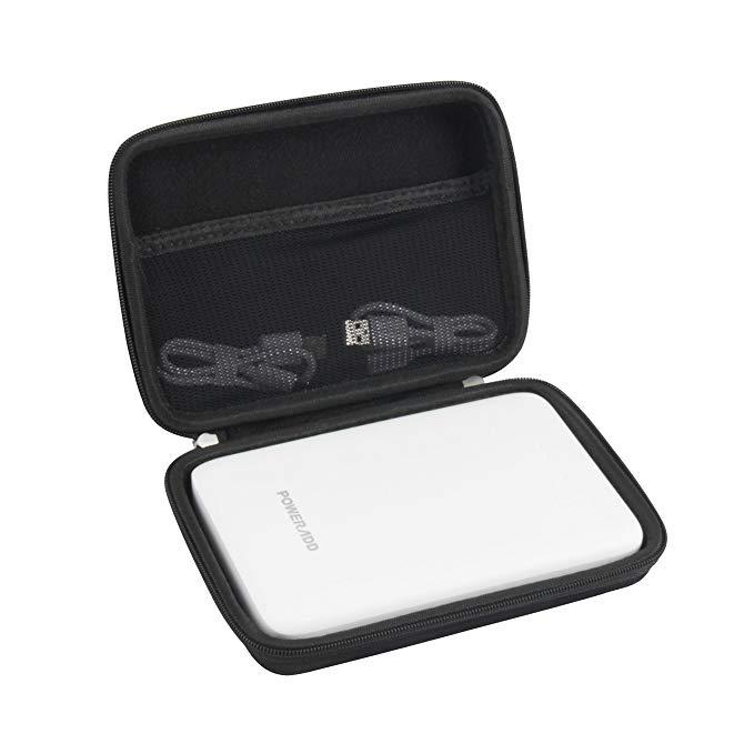 Hard EVA Travel Case for Poweradd Pilot Pro3 30000mAh Power Bank External Battery Pack by Hermitshell