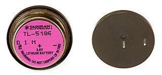 DANTONA INDUSTRIES TL-5186/P Non-rechargeable Battery, Lithium, 400 mAh, 3.6 V, PCB Pins, 22.8 mm (10 pieces)