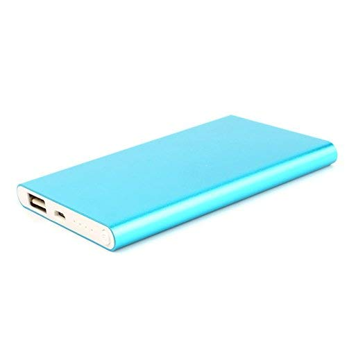 Phoneix 1PC Slim Thin 12000mAh Portable Travel Charger External Battery Power Bank?For Cell Phone Blue