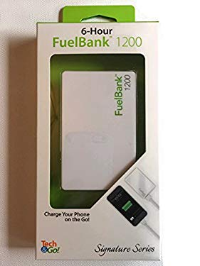 Tech & Go 12- Hour Back-up Fuel Bank, White