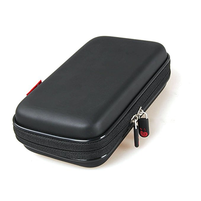 Hermitshell Hard EVA Travel Case fits Portable Charger RAVPower 9000mAh Mycharge External Battery Pack