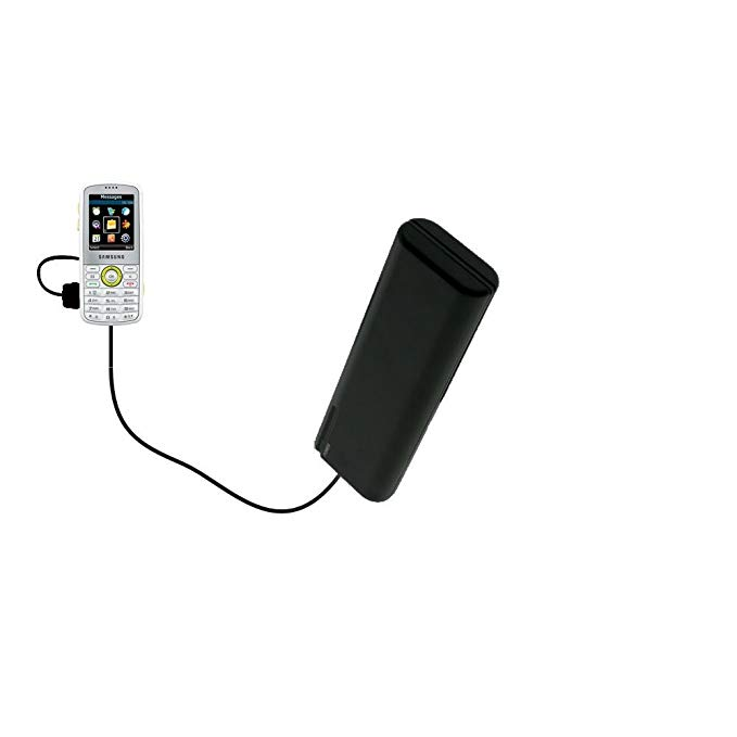 Gomadic Portable AA Battery Pack designed for the Samsung SGH-T459 - Powered by 4 X AA Batteries to provide Emergency charge. Built using TipExchange Technology