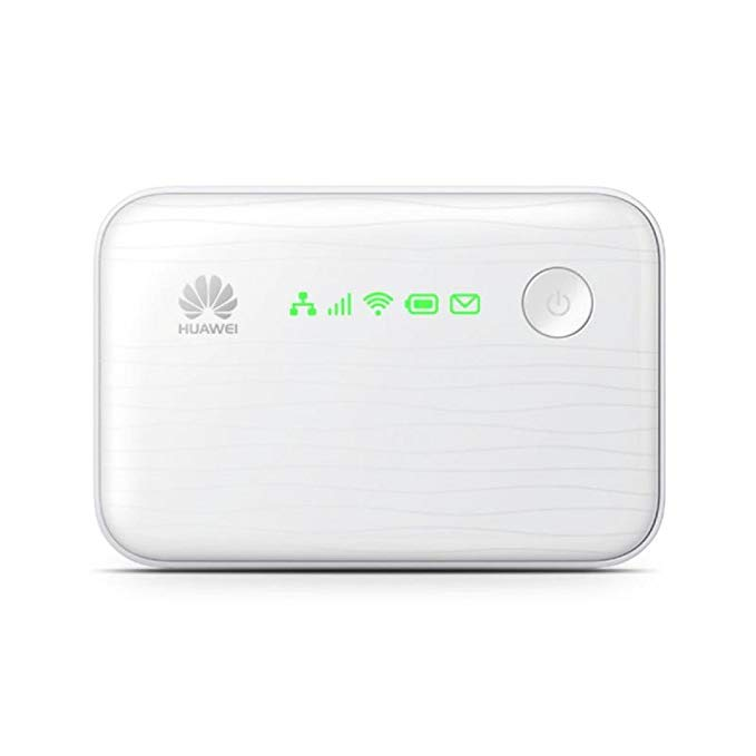 Huawei E5730 43.2 Mpbs 3G Mobile WiFi Hotspot with Ethernet Port and 5200mAh Power Bank (3G in Europe, Asia, Middle East, Africa) (white)