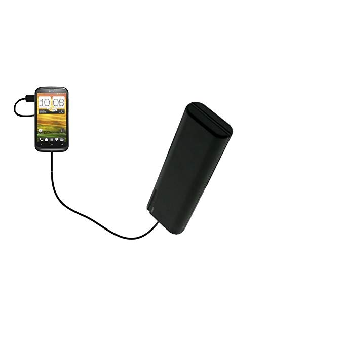 Portable Emergency AA Battery Charger Extender suitable for the HTC One S / Ville - with Gomadic Brand TipExchange Technology