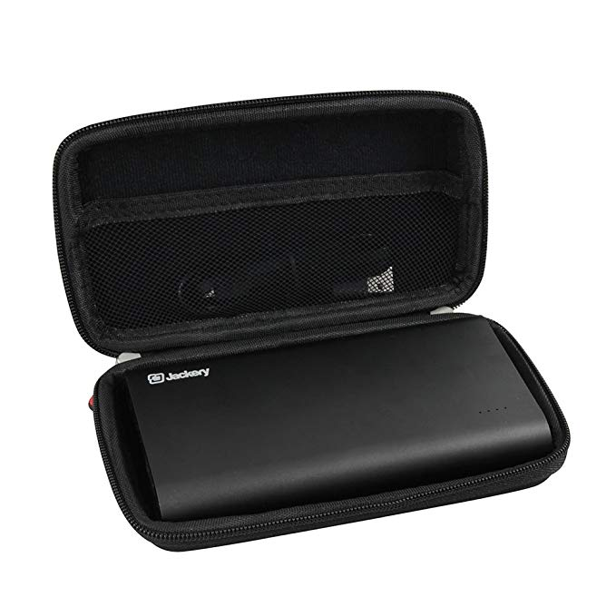 Hermitshell Hard EVA Travel Case fits Jackery Titan 20100 mAh Portable Charger Battery Pack 3.4A Output