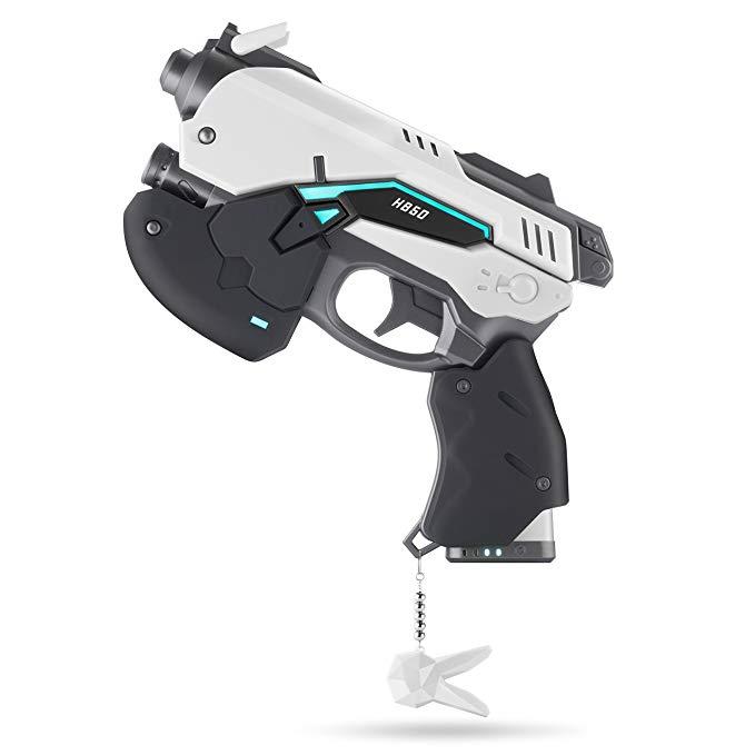 Overwatch D.Va White Rabbie Power Bank 10000mAh Prop Gun