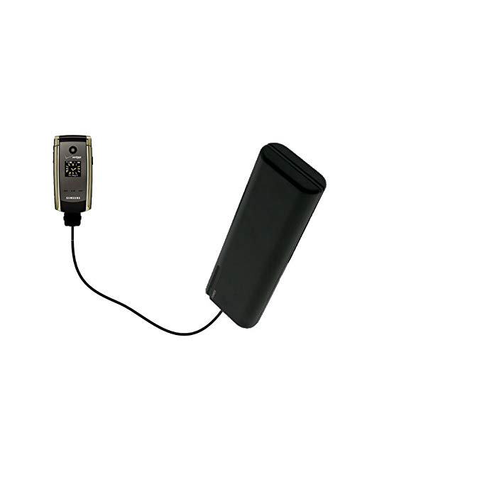 Portable Emergency AA Battery Charger Extender suitable for the Samsung Gleam - with Gomadic Brand TipExchange Technology
