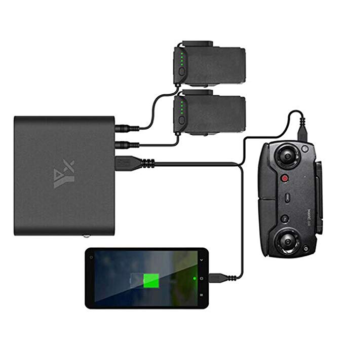 Bestmaple Mobile Charging Power Bank Intelligent Battery Charger Outdoor Using Charger for DJI MAVIC AIR